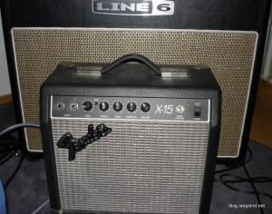 Flextone III gegen Fender X-15